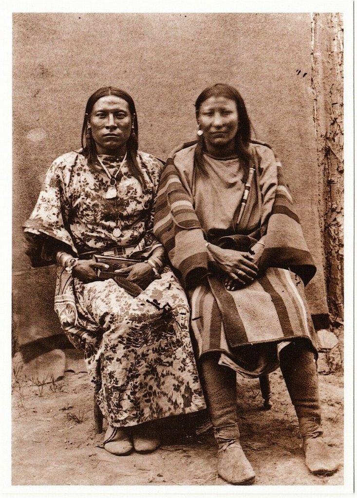 Osh-Tisch y su mujer