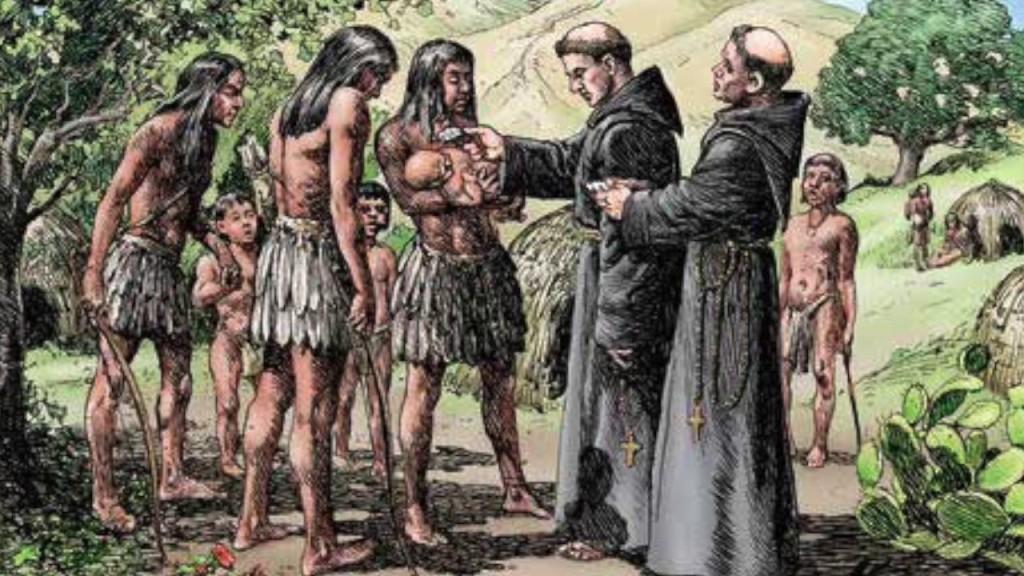 Bautizo de Indígenas