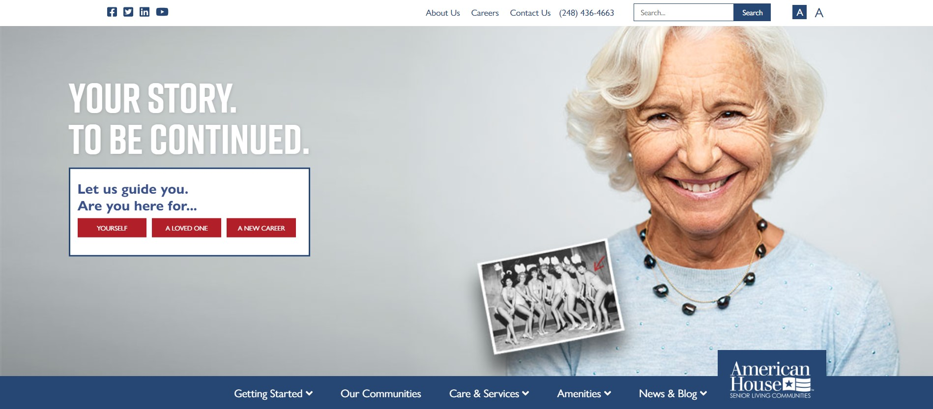 American House Homepage
